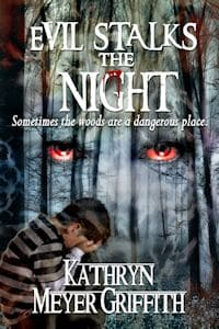 Cover for Evil Stalks the Night