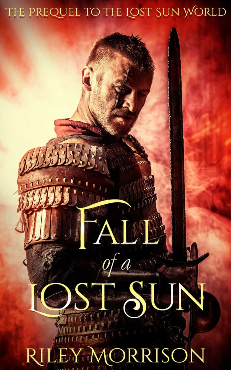 Cover for Fall of a Lost Sun: The Prequel novella to the Lost Sun World