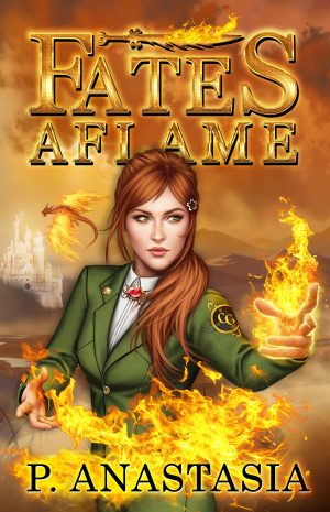 Cover for Fates Aflame