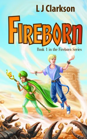 Cover for Fireborn