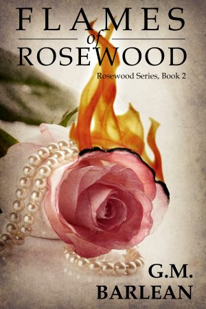 Cover for Flames of Rosewood