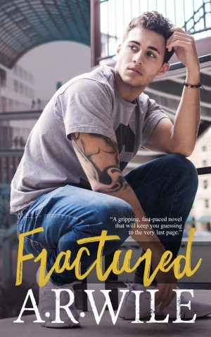 Cover for Fractured