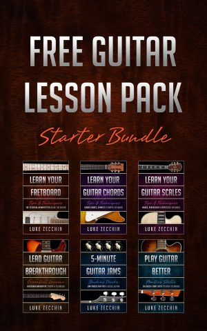 Cover for Free Guitar Lesson Pack
