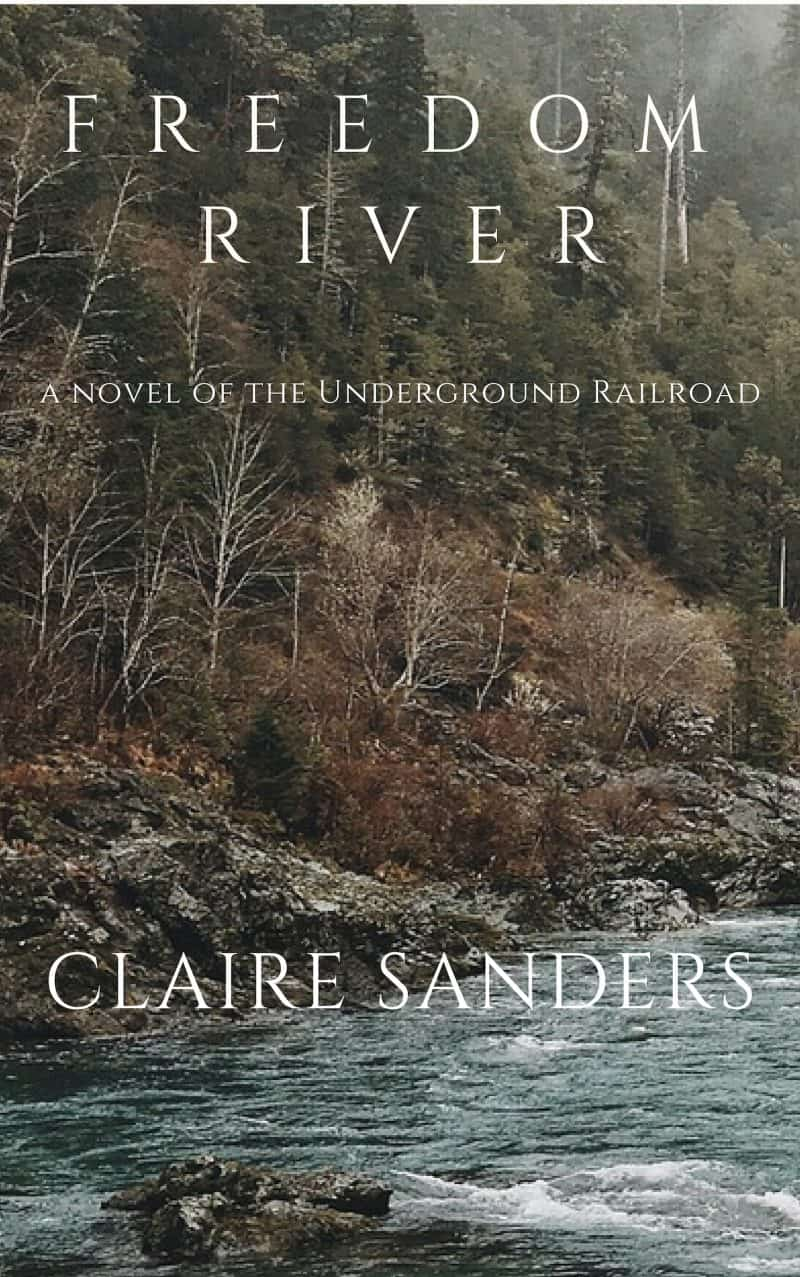 Cover for Freedom River: a story of the Underground Railroad