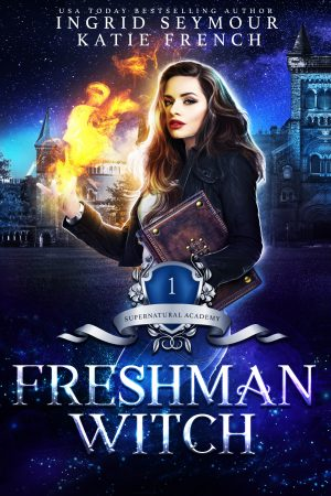 Cover for Freshman Witch