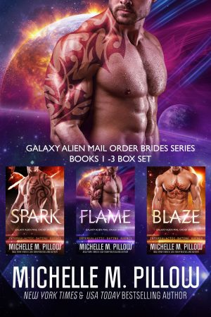 Cover for Galaxy Alien Mail Order Brides Series