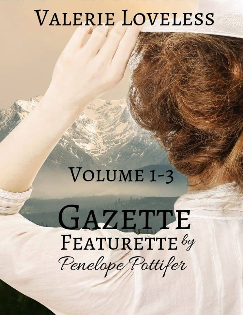 Cover for Gazette Featurette by Penelope Pottifer: Volume 1-3: Prequel to Enduring Promises of the Heart