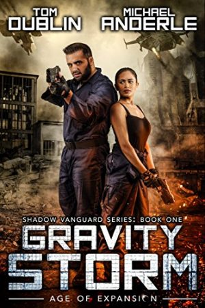 Cover for Gravity Storm