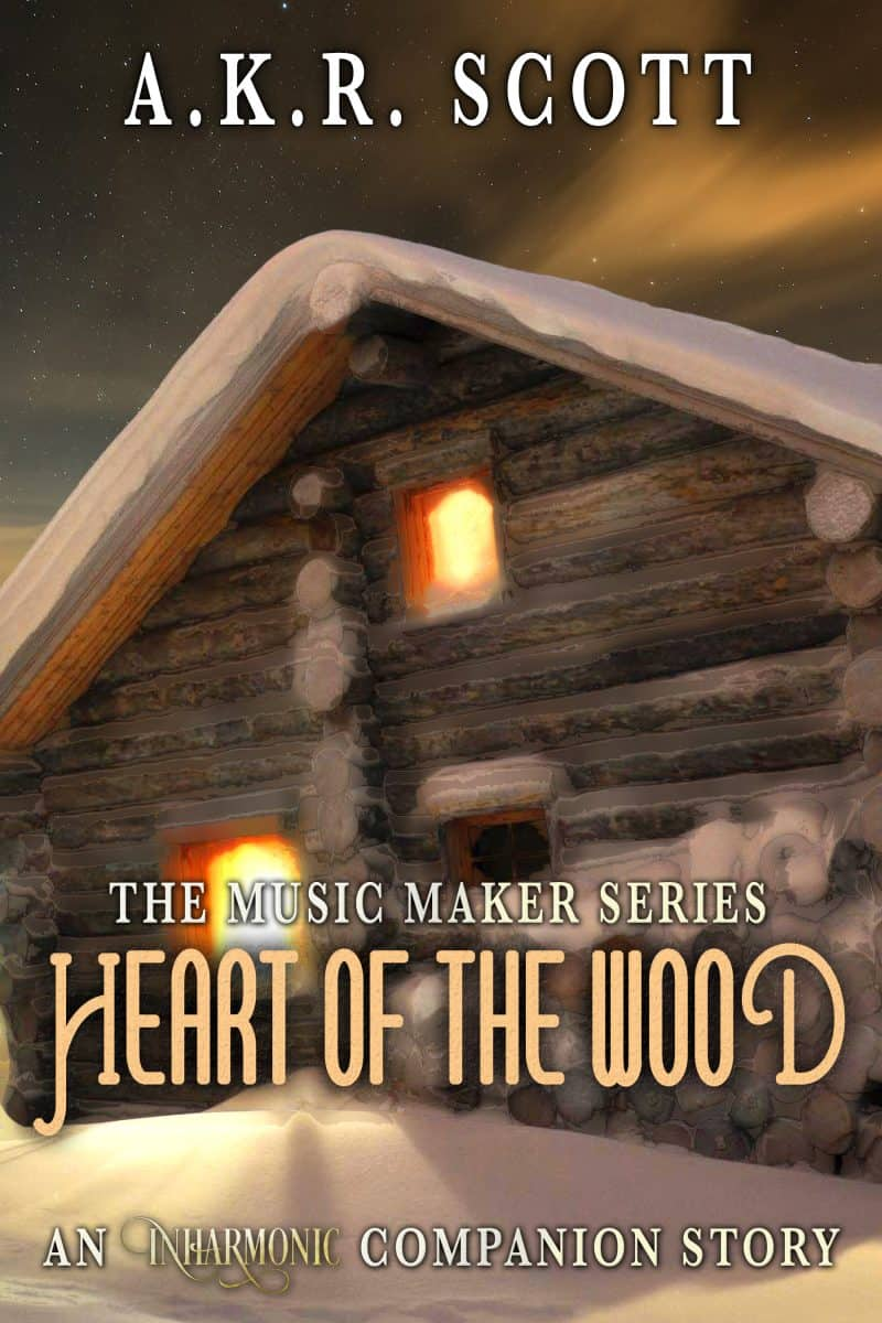 "Cover for Heart of the Wood: An ""Inharmonic"" Companion Story"