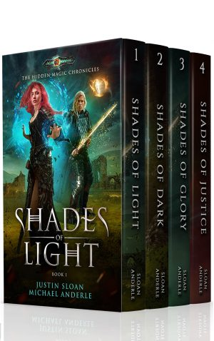 Cover for Hidden Magic Chronicles Boxed Set