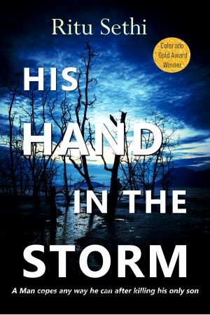 Cover for His Hand in the Storm