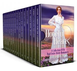 Cover for Hopeful Hearts: A Collection of 16 Mail Order Bride Romances