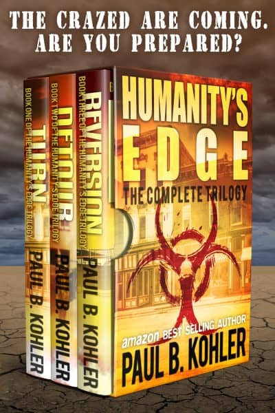 Cover for Humanity's Edge: The Complete Trilogy