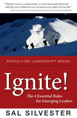 Cover for Ignite! The 4 Essential Rules for Emerging Leaders