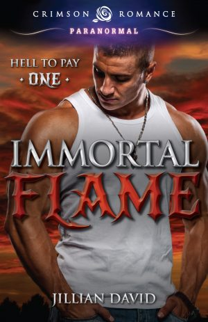 Cover for Immortal Flame