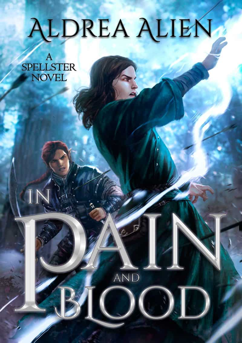 Cover for In Pain and Blood