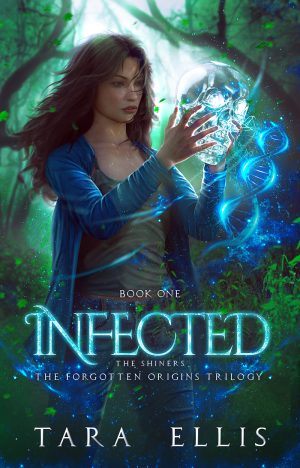 Cover for Infected, the Shiners