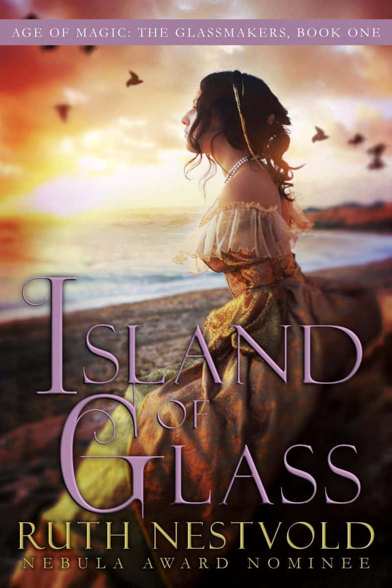 Cover for Island of Glass