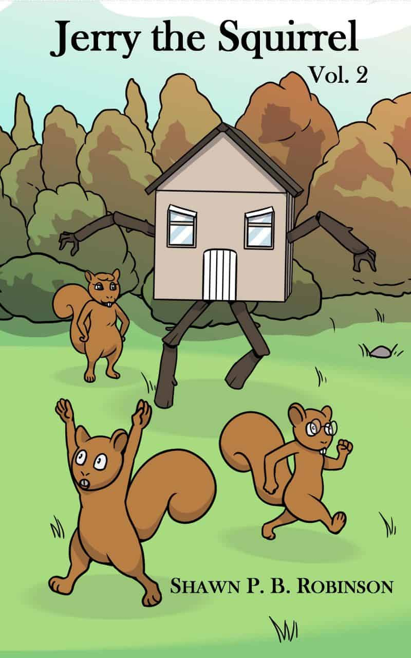 Cover for Jerry the Squirrel: Volume Two