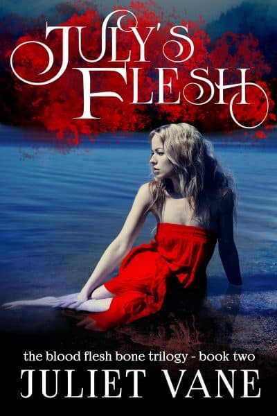 Cover for July's Flesh