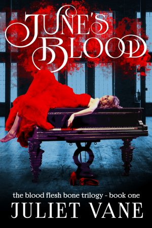 Cover for June's Blood