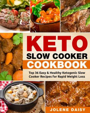Cover for Keto Slow Cooker Cookbook