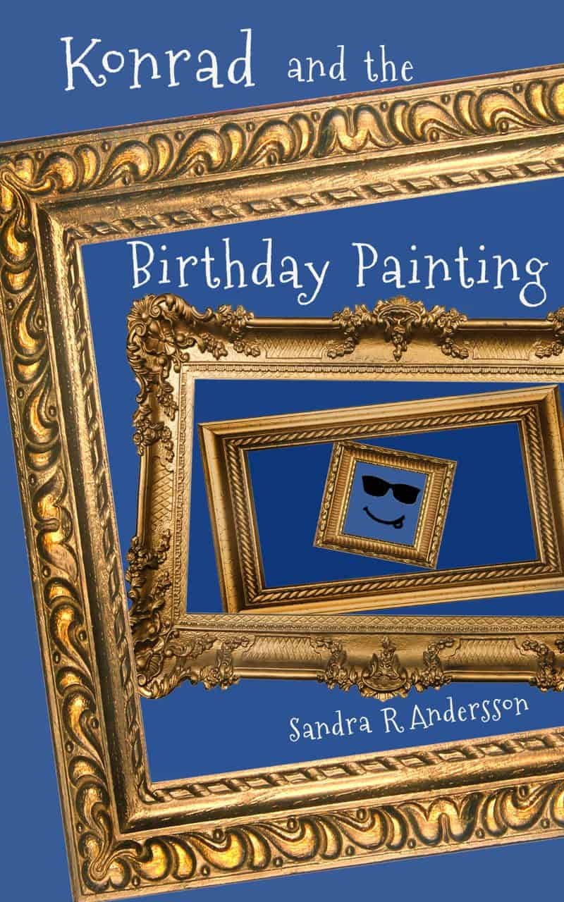 Cover for Konrad and the Birthday Painting