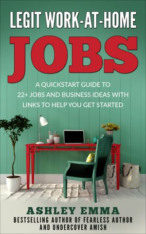 Cover for Legit Work-at-Home Jobs
