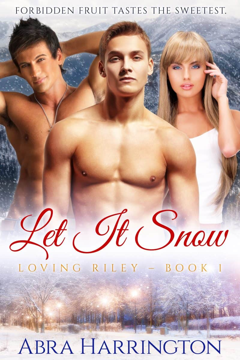 Cover for Let It Snow: A Christmas M/M/F Romance