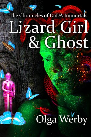 Cover for Lizard Girl & Ghost