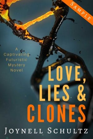 Cover for Love, Lies & Clones