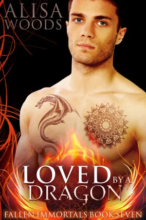 Cover for Loved by a Dragon