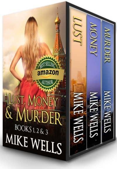 Cover for Lust, Money & Murder, Books 1, 2 & 3