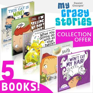 Cover for My Crazy Stories: 5 in 1 Collection