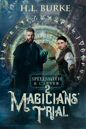 Cover for Magicians' Trial