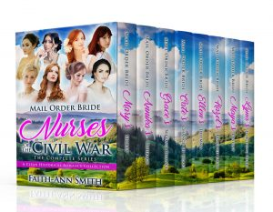 Cover for Mail Order Bride Nurses Of The Civil War: The Complete Series