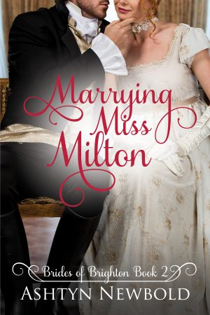 Cover for Marrying Miss Milton