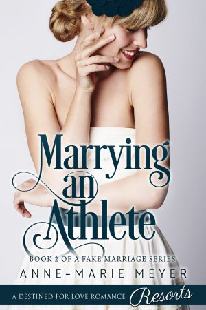 Cover for Marrying an Athlete