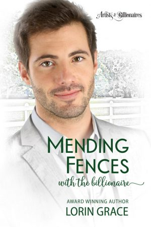 Cover for Mending Fences with a Billionare