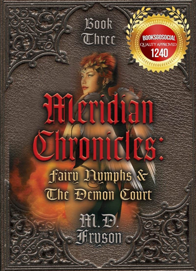 Cover for Meridian Chronicles:  Fairy Nymphs & the Demon Court