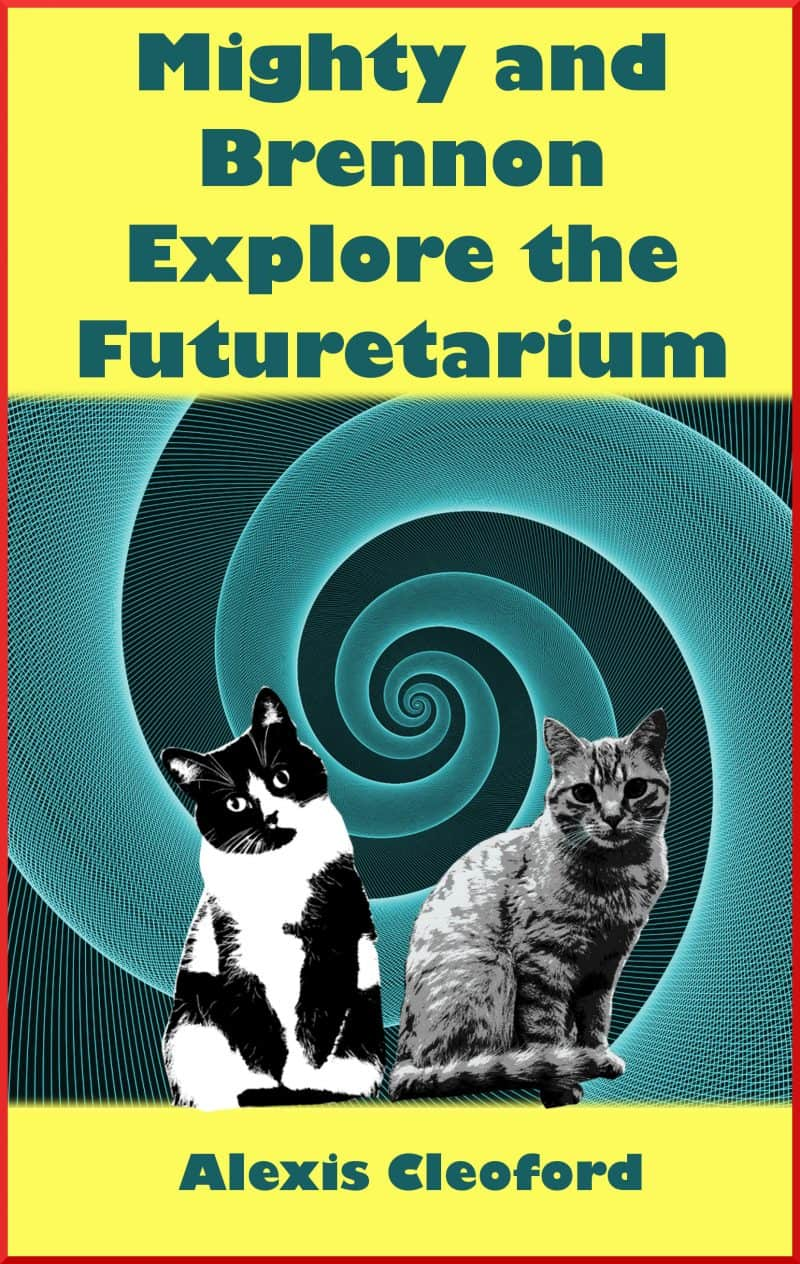 Cover for Mighty and Brennon Explore the Futuretarium