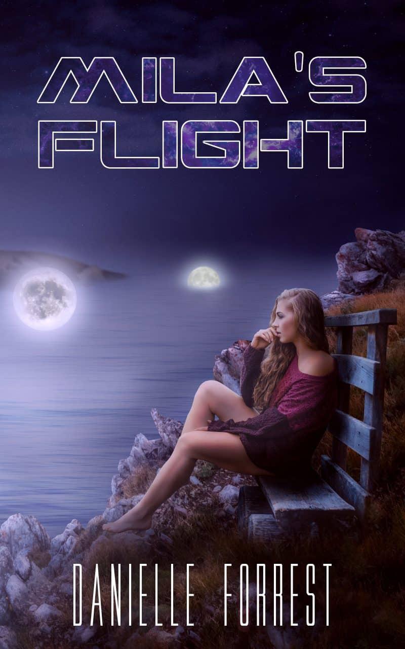 Cover for Mila's Flight