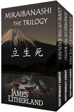 Cover for Miraibanashi the Trilogy