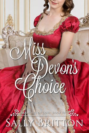 Cover for Miss Devon's Choice