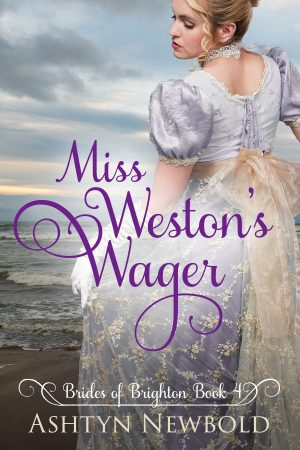 Cover for Miss Weston's Wager