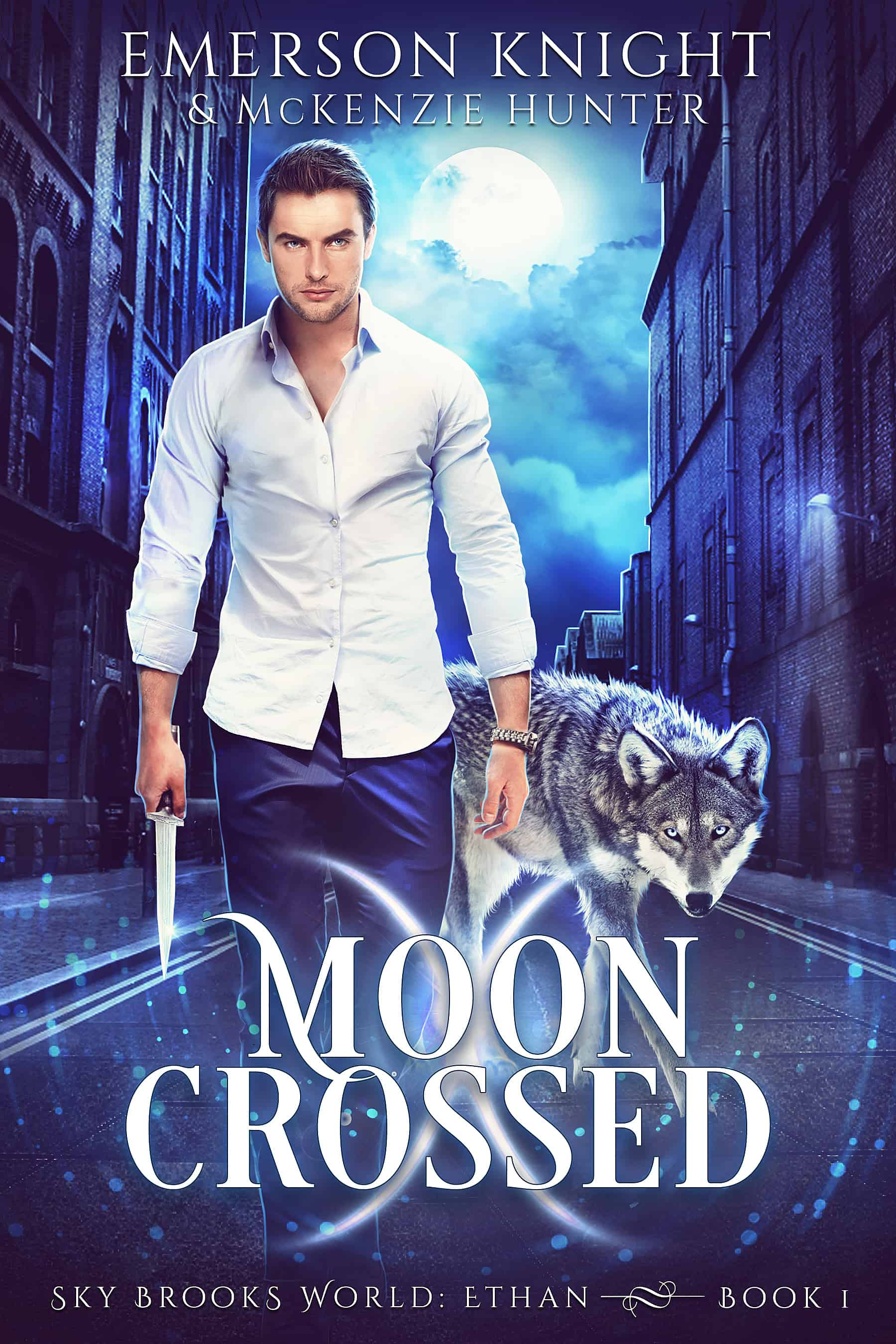Cover for Moon Crossed