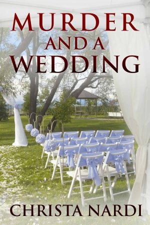 Cover for Murder and a Wedding