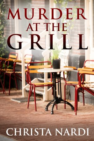 Cover for Murder at the Grill