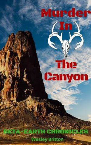 Cover for Murder in the Canyon