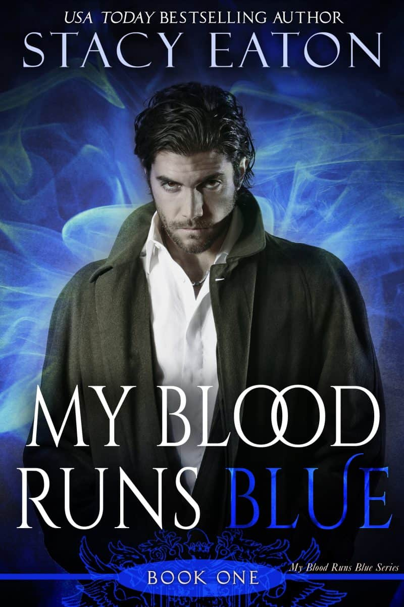 Cover for My Blood Runs Blue